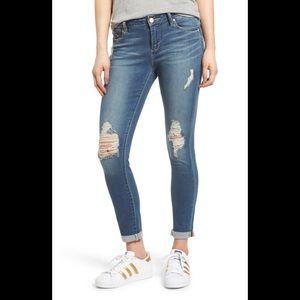 Articles Of Society Karen Skinny Crop Calypso Jean